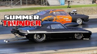 Download SUMMER THUNDER! CHICAGO WISEGUYS DOOR SLAMMERS! UNDER THE LIGHTS! BYRON DRAGWAY! Video