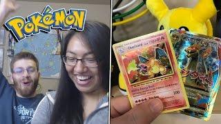 Download OMG! BEST CHARIZARD PULLS! Best Pokemon Evolutions Booster Box Opening! #2 Video