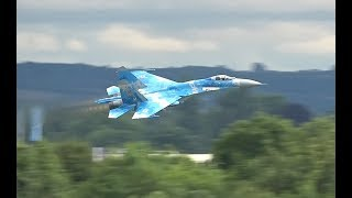 Download The Sukhoi Su-27 P1 - Filmed Exclusively For AIRSHOW WORLD By James Feneley Video