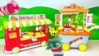 Download Learn Cooking and Colors with Fizzy and Phoebe Pretend Food Truck and Bus Video