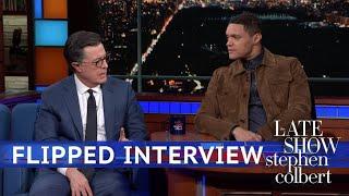 Download Trevor Noah Interviews Stephen Colbert Video
