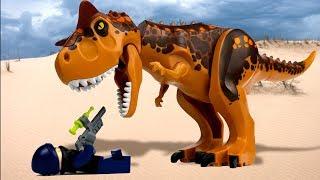 Download LEGO Jurassic World 🔴 Indoraptor vs Indominus Rex - 3 🦖 Video