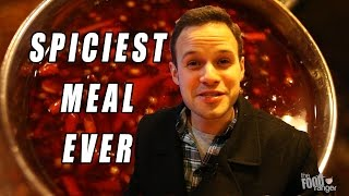 Download Eating The Spiciest Meal Ever at ″Painful Heat″ | I Could Barely Speak... Video