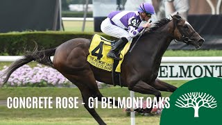 Download Concrete Rose - 2019 - The Belmont Oaks Invitational Stakes Video