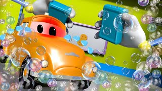 Download There was an ACCIDENT at the CAR WASH ! - Amber the Ambulance in Car City l Cartoons for Children Video
