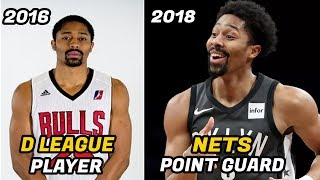 Download Meet Spencer Dinwiddie: From the D League to NBA Starting Point Guard Video