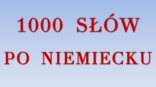 Download 1000 SŁÓW PO NIEMIECKU Video