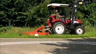Download Knegt Tractor Mowing a Verge. Video