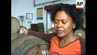 Download Black women begin making wine near Cape Town Video