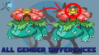 Download All Gender Differences in Pokémon [Generation 1 to 6] Video