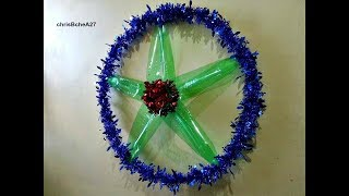 Download DIY# 51 Easy Big Xmas Lantern/Parol from Recycled Plastic Bottles Video