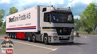 Download [ETS2 v1.28] Mercedes Actros MP2 Addon v7.0 + Cabin DLC ready Video