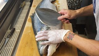 Download How to Fillet a Salmon for Sashimi Video