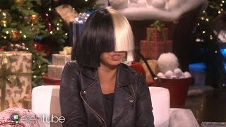 Download Sia Takes Off Her Wig For Ellen & Performs ″Alive″ Video