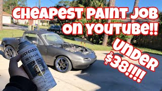 Download How to Rattle Can Spray Paint Your Car At Home Video