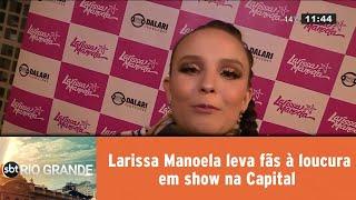 Download Larissa Manoela leva fãs à loucura em show na Capital Video