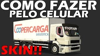 Download COMO FAZER SKIN PELO CELULAR DO HEAVY TRUCK SIMULADOR! Video