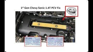 Cruze LS 2013 1 8 evap purge valve replacement  P0442, P0496