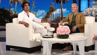 Download Kunal Nayyar Is the Resident Welcome Committee on the Studio Lot Video