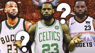 Download 10 MOST LIKELY Trade Destinations to Get LeBron James Out of Lakers Hell Video