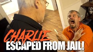 Download CHARLIE ESCAPED FROM JAIL!! (PRANK) Video