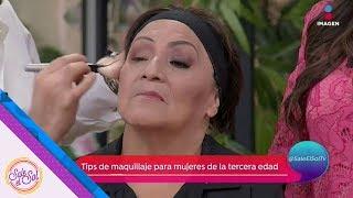 Download Tips de maquillaje para la tercera edad: ¡Levanta tus ojos! | Sale el Sol Video