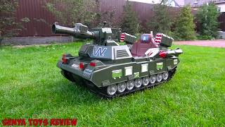 Download Funny Baby Unboxing And Assemblig - The Power Wheel Tanks Pretend Play with Tank Video