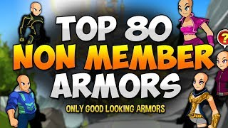 AWESOME NON-MEMBER ITEMS!!! (FREE AC SET) Easy Badge! AQW