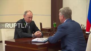 Download Russia: NOVATEK Chairman thanks Putin for ″timely support″ during sanctions Video