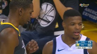 Download Kevin Durant SHUTS UP DENNIS SMITH JR FOR TRASH TALKING AND TRYING TO DUNK ON HIM! Video
