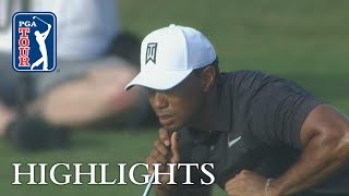 Download Tiger Woods extended highlights | Round 1 | Hero Video