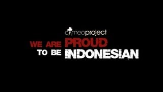 Download WE ARE PROUD TO BE INDONESIAN Video