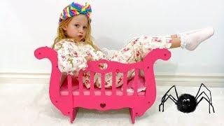 Download Настя и её новая кровать-карета для принцессы Video