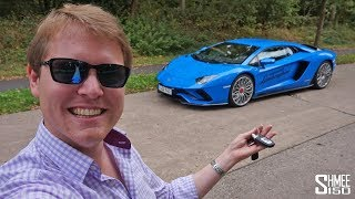 Download 300km/h Aventador S Test Drive on the Autobahn! | REVIEW Video