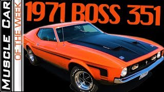 Download 1971 Ford Mustang BOSS 351 - Muscle Car Of The Week Episode 292 V8TV Video