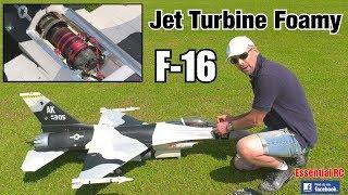 Download HSD JETS F-16 (TURBINE jet engine IN an EPO FOAM JET !) Video
