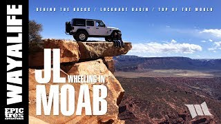 Download JEEP JL WRANGLER Off Road in MOAB : Behind the Rocks & Top of the World - PART 3 Video
