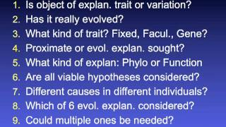 Download 2012 - ″Methods for Testing Hypotheses: Why Darwinian Medicine is Difficult″ - Randolph Nesse Video