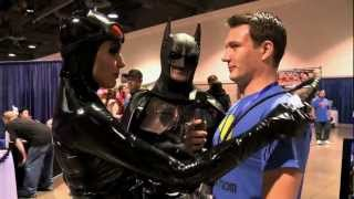 Download CATWOMAN SEDUCES INTERVIEWER (Full Interview) Video