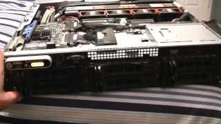 Download Dell poweredge 2950 server close look Video