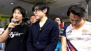 Download 【獣道】ウメハラ vs ときど 試合後コメント&ときどの涙 Video