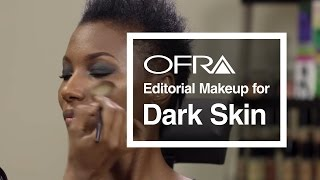 Download Editorial Makeup for Dark Skin Demonstrated by OFRA's Own - Taryll Atkins Video