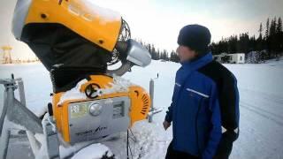 Download Snøproduksjon i Hafjell Video