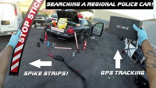 Download Searching A Regional Transit Police Car Found Spike Strips! Ford Crown Victoria Police Interceptor Video