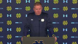 Download @NDFootball Brian Kelly Post-Game Press Conference - Navy (2017) Video