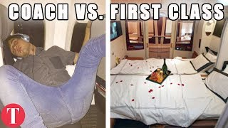 Download This Is What FIRST CLASS Will Buy You On Different Airlines Video