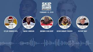 Download UNDISPUTED Audio Podcast (02.12.19) with Skip Bayless, Shannon Sharpe & Jenny Taft | UNDISPUTED Video