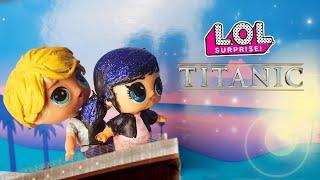 Download 🛳 TITANIC 💖 Versione LOL Surprise con Marinette e Adrien [Film Lollizzati - Ep. 8] Video