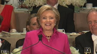 Download Clinton roasts Trump at Al Smith charity dinner Video
