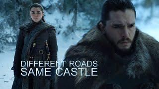 Download Arya & Jon // Different Roads, Same Castle Video